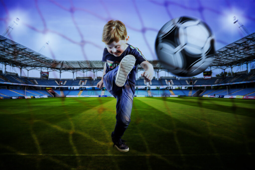 Fantasy football digfital photo art by Quirky Photography