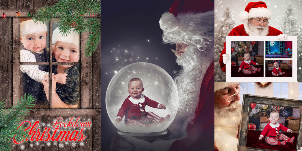 Christmas composite fantasy art from your own photo by Quirky Photography